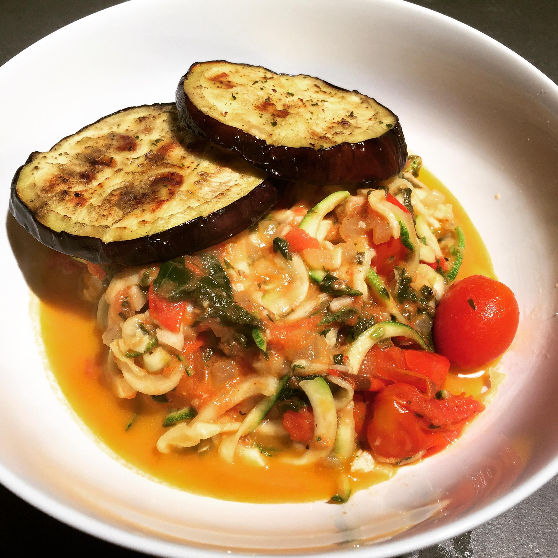 italiano inspiration: eggplant