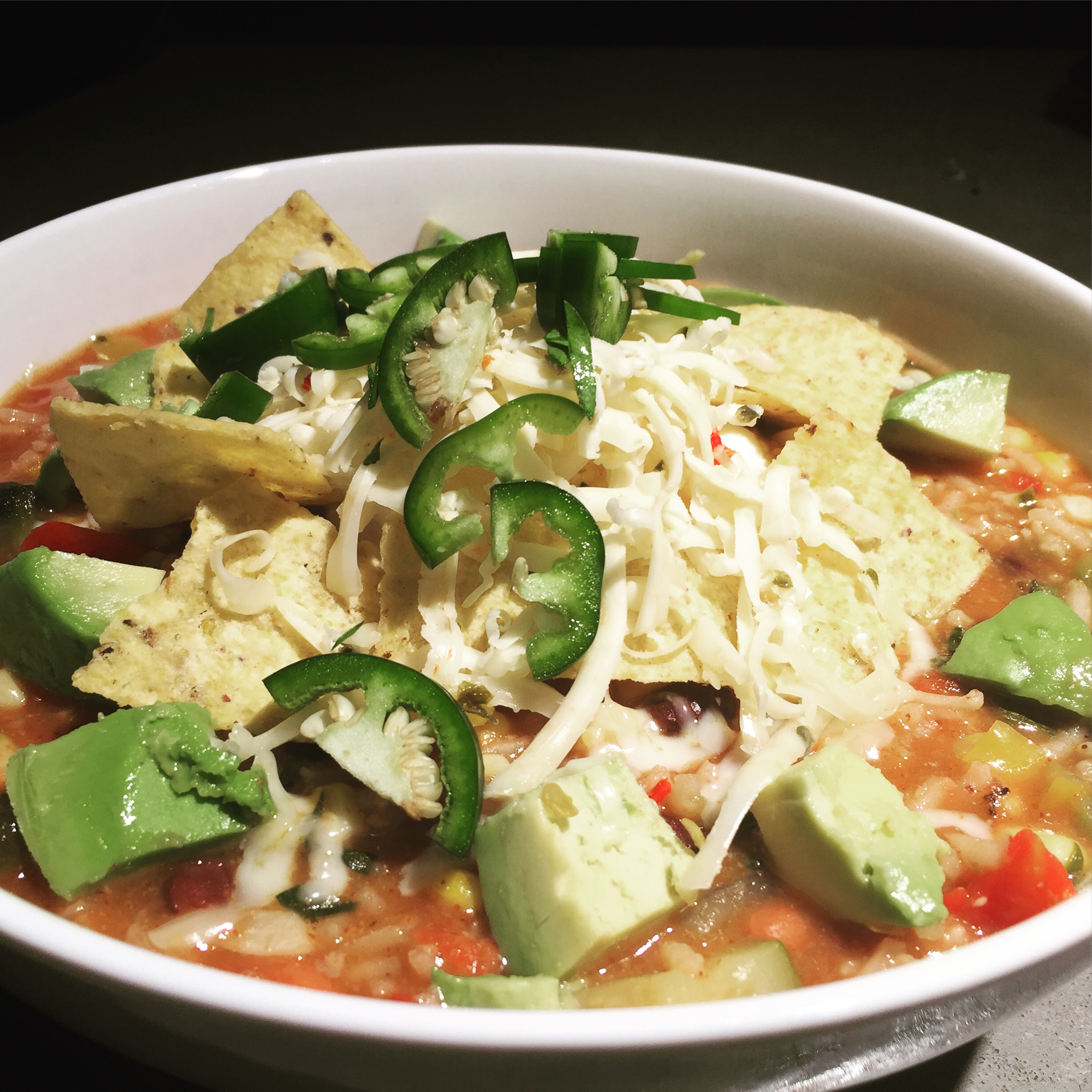 summertime…..(enchilada) soup?