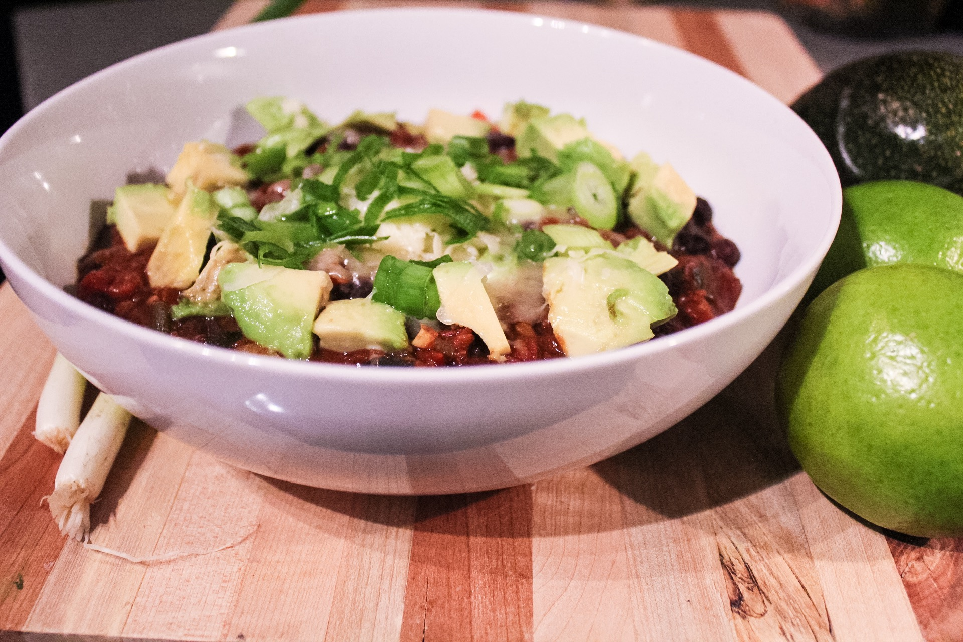soup sundays: black bean and lentil chili
