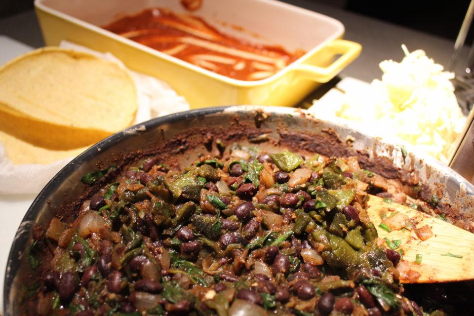 https://eatbreathelove.net/2017/01/black-bean-spinach-enchiladas/