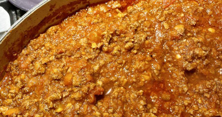 Tomato Meat Ragu