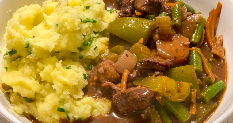 soup sundays: italian inspired beef stew