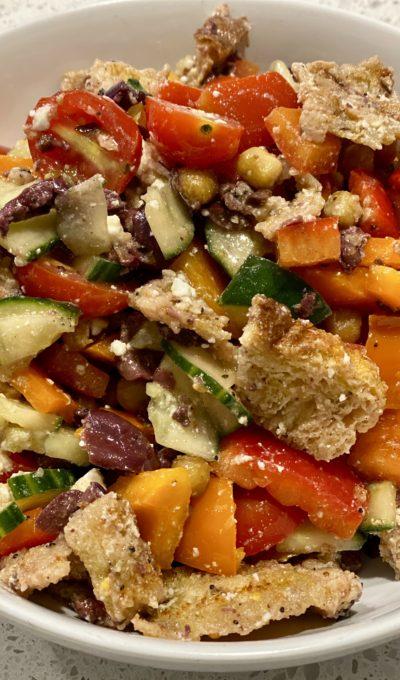 Village Panzanella Salad Recipe
