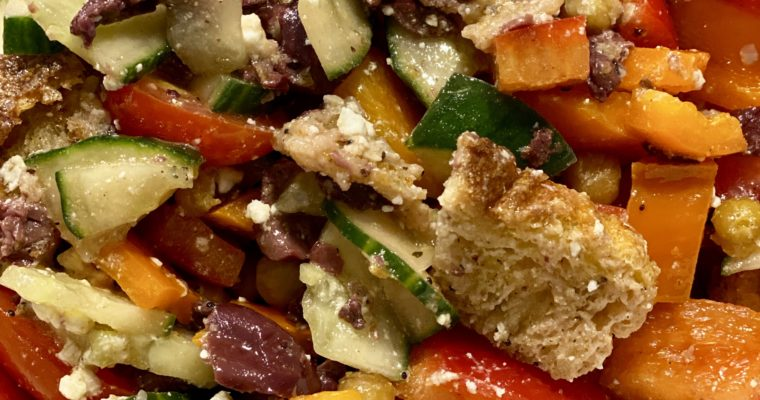 Village Panzanella Salad Recipe