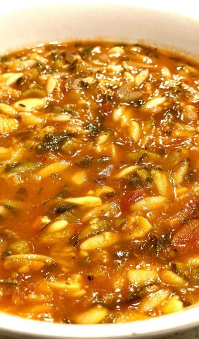 soup sundays: tomato florentine soup