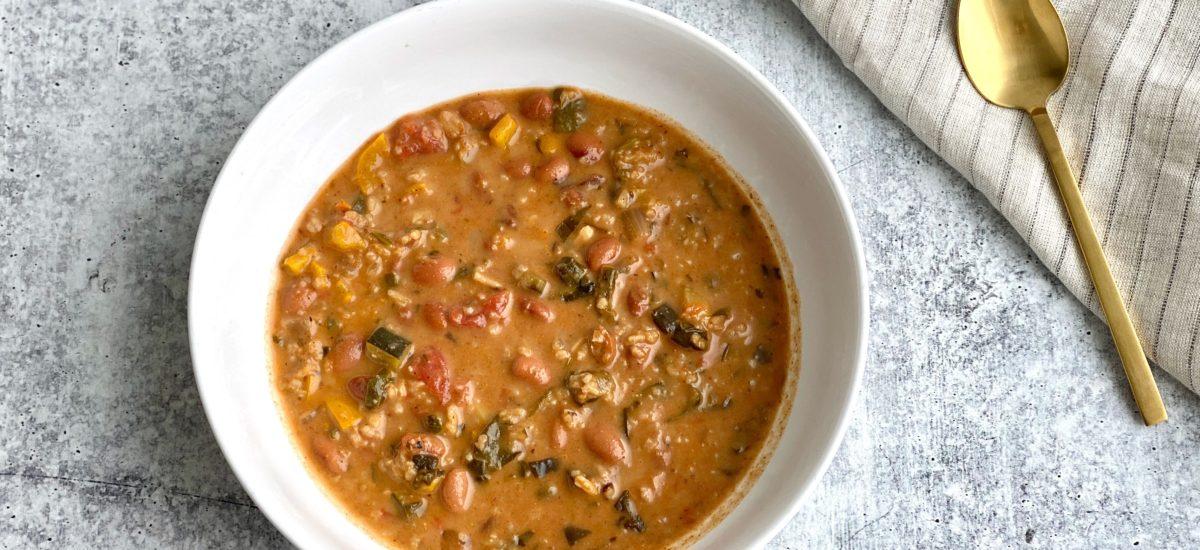 veggie enchilada soup – soup sundays