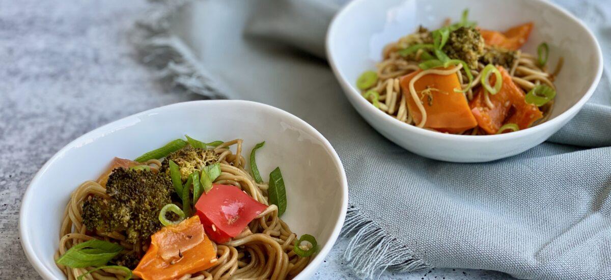 Sheet Pan Ramen Noodles
