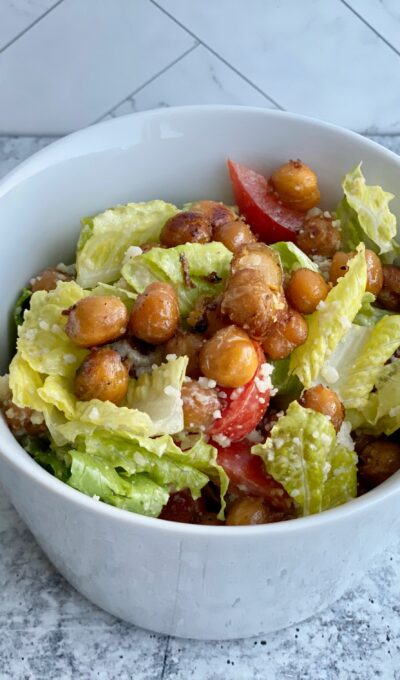 Chickpea Caesar Salad